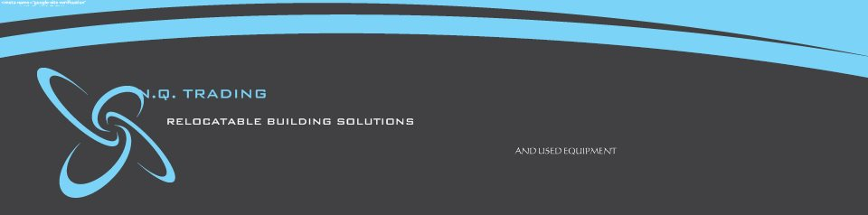 N.Q. TRADING - RELOCATABLE BUILDING SOLUTIONS
